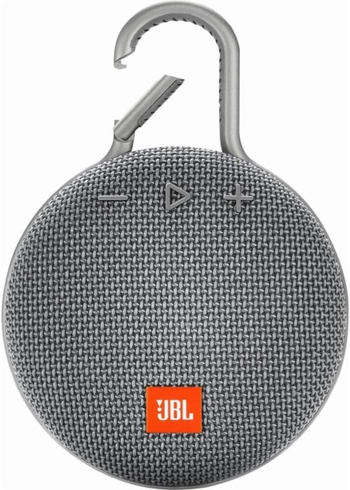 JBL CLIP 3 - Waterproof Portable Bluetooth Speaker - Gray