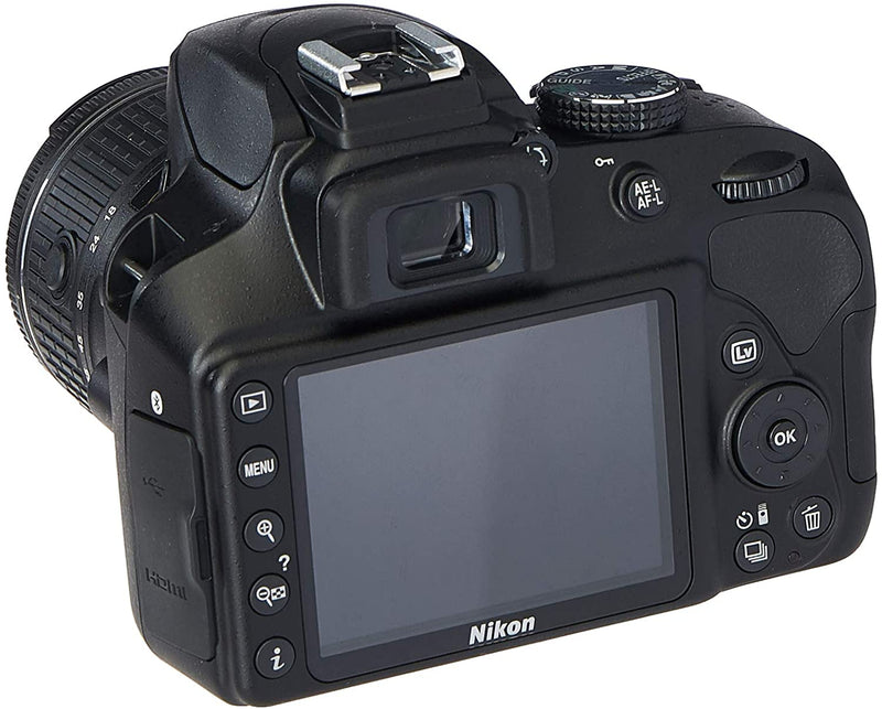 Nikon D3400 Digital SLR Camera with 18-55mm VR AF-P DX Nikkor Lens