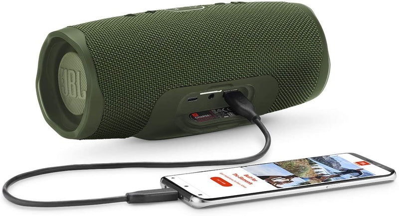 JBL Charge 4 - Waterproof Portable Bluetooth Speaker - Green