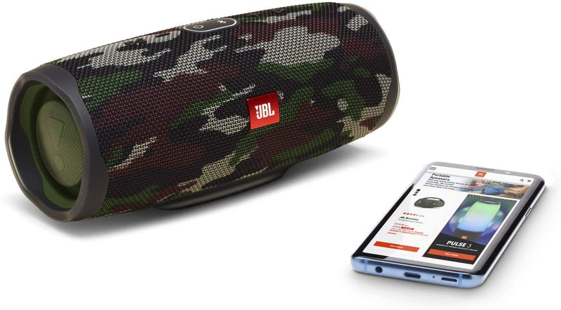 JBL Charge 4 - Waterproof Portable Bluetooth Speaker - Squad Camo