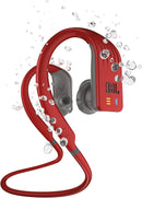 JBL Endurance Dive Waterproof Wireless In-Ear Sports Headphones with Built-in Mp3 Player (Red)