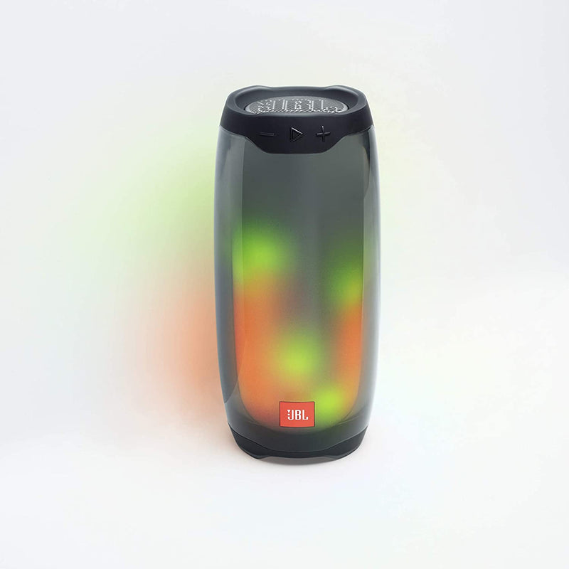 JBL Pulse 4 - Waterproof Portable Bluetooth Speaker with Light Show - Black