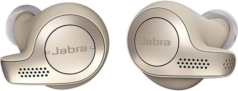Jabra - Elite 65t True Wireless Earbud Headphones - Beige/Gold
