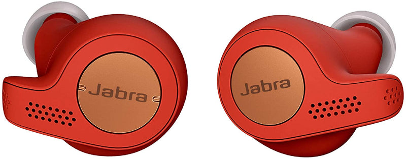 Jabra - Elite Active 65t True Wireless Earbud Headphones - Red Copper