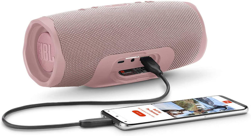 JBL Charge 4 - Waterproof Portable Bluetooth Speaker - Pink