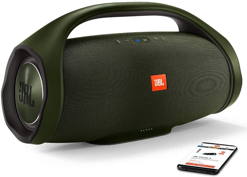 JBL Boombox - Waterproof Portable Bluetooth Speaker - Green