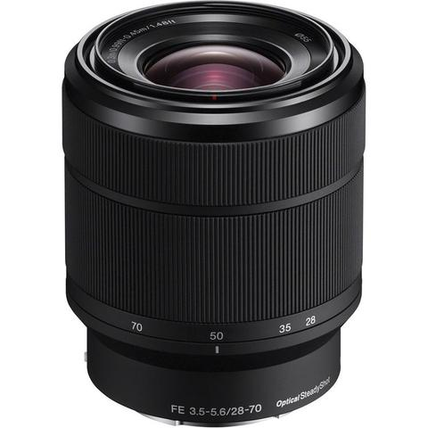 Sony 28-70mm F3.5-5.6 FE OSS Interchangeable Standard Zoom Lens for Sony Full Frame Mirrorless Cameras