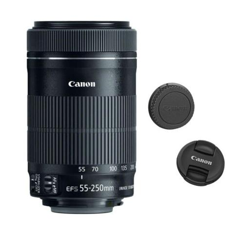 Canon EF-S 55-250mm f/4-5.6 IS STM Lens For Canon DSLR Cameras