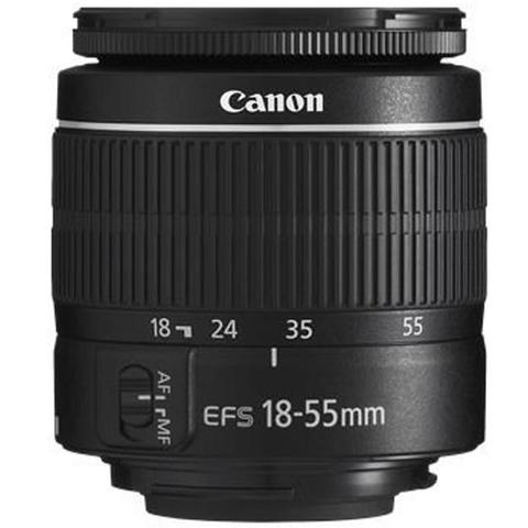Canon EOS 3000D 18MP DSLR Camera + Canon EF-S 18-55mm III f/3.5-5.6 Camera Lens + Canon EF 75-300mm f/4.0-5.6 III Lens