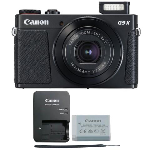 Canon PowerShot G9X Mark II 20.1MP Digital Camera Black