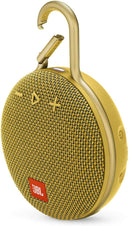JBL CLIP 3 - Waterproof Portable Bluetooth Speaker - Yellow
