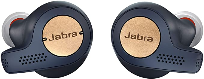 Jabra - Elite Active 65t True Wireless Earbud Headphones - Copper Navy