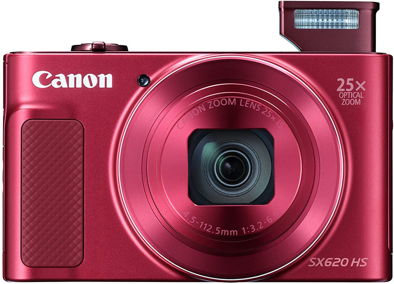 Canon PowerShot SX620 HS 20.2MP Digital Camera - Red