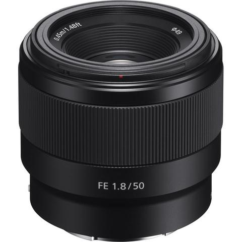 Sony FE 50mm F1.8 Standard Lens for Sony E Mount Full Frame Mirrorless Cameras