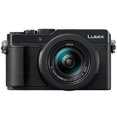 PANASONIC Lumix DC-LX100 II 17MP Electronic Viewfinder Digital Camera (Black)
