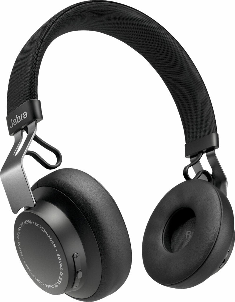 Jabra - Elite 25h Wireless On-Ear Headphones - Titanium Black