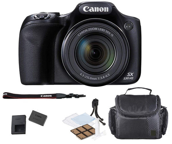 Canon PowerShot SX530 HS Digital Camera with Camera Case