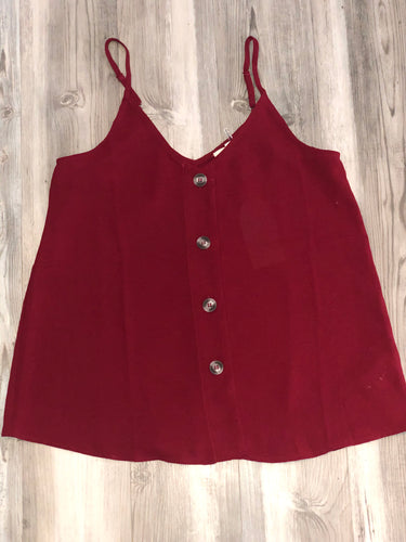 Wine color tank with buttons