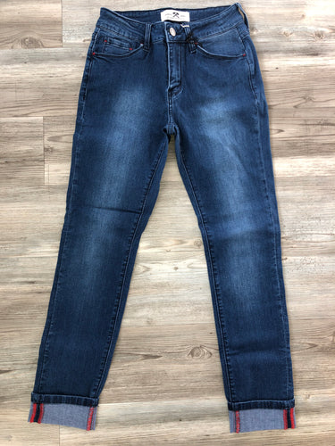 Mid Rise Ankle Skinny by Hammer Jeans
