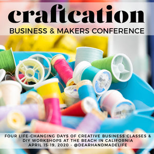 Join me at Craftcation!
