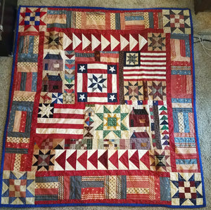 Stuff I've Made: Americana Quilt