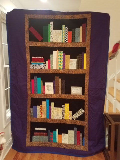 Stuff I've Made: Bookshelf Quilt