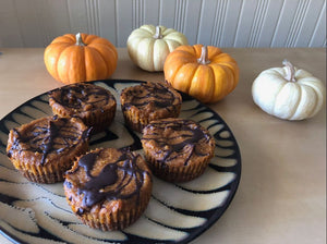 Vegan Noms: Pumpkin Cheesecake Bites
