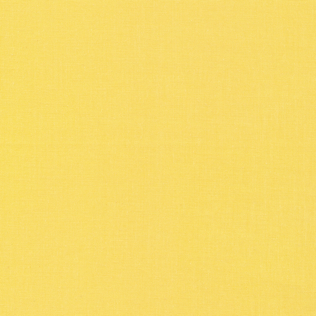 Butter Yellow Organic Cotton