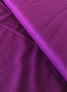 Deep Plum Organic Cotton Poplin