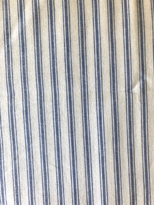 Blue and White Stripe Odd Cut