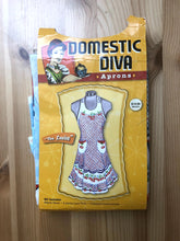 Load image into Gallery viewer, Domestic Diva Fabric Panel Apron