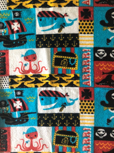 "Pirate Fleece 8x40"" Odd Cut"