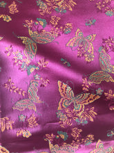 Load image into Gallery viewer, Butterfly Silk-Like Fabric 1 Yard