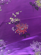 Load image into Gallery viewer, Purple Silk-Like Fabric