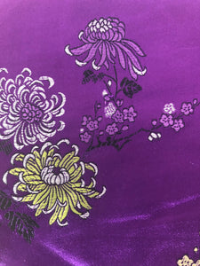 Purple Silk-Like Fabric