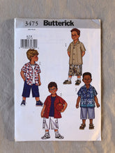 Load image into Gallery viewer, Butterick 3475 Pattern