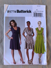 Load image into Gallery viewer, Butterick B5778 Pattern