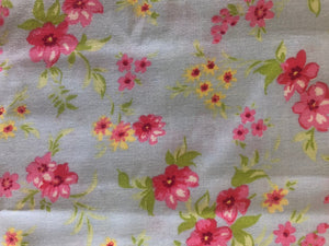 Petit Floral Fabric Odd Cut