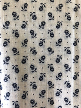 Load image into Gallery viewer, Blue Floral 1/4 Yard Fabric