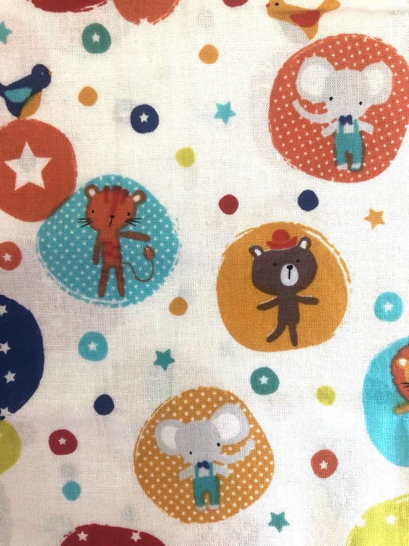 Animal Fun Print Fabric