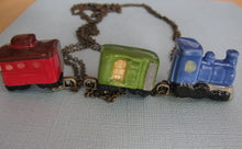 Load image into Gallery viewer, Caboose Necklace