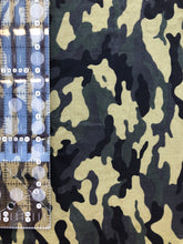 Load image into Gallery viewer, Green Camouflage 1/4 Yard Cotton