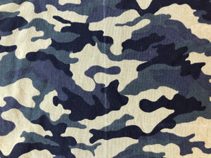 Green Camouflage 1/4 Yard Cotton