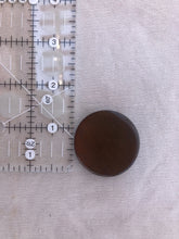 Load image into Gallery viewer, Set of 2 Brown Shank Buttons