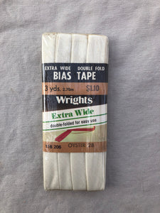 1/2 Inch Double Fold Bias Tape