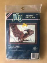Load image into Gallery viewer, Jiffy Counted Cross Stitch: Eagle In Flight