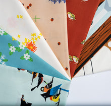 Load image into Gallery viewer, Fat Quarter Bundle Sierra Range Charley Harper Organic Cotton Poplin
