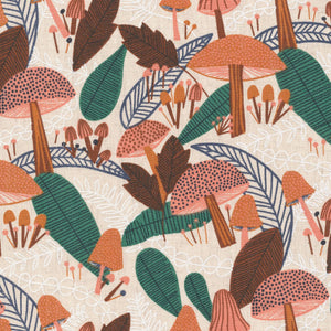 Forest Flourish Organic Cotton Linen