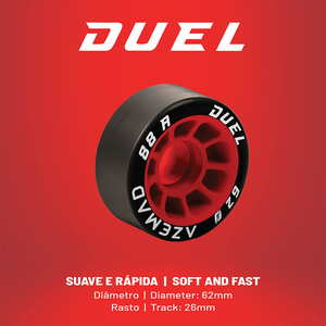 Azemad Duel (88A) Wheels
