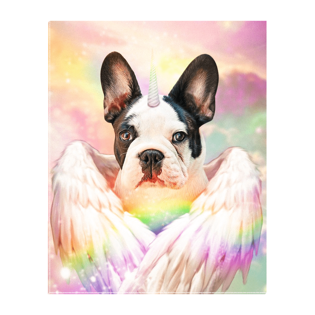 'The Unicorn' Personalized Pet Standing Canvas
